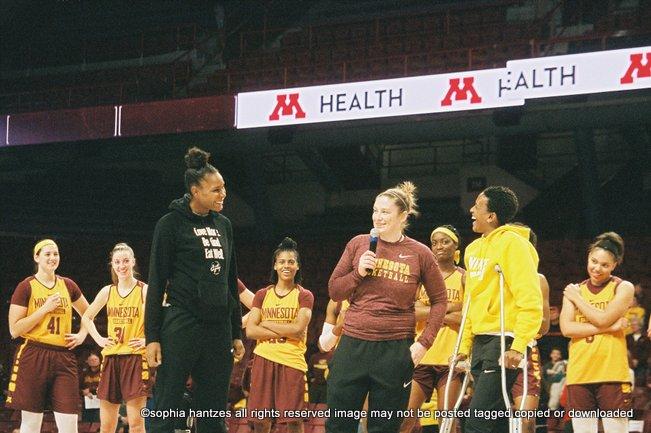 10.20.18   University of Minnesota Golden Gophers Women's Basketball Maroon and Gold Showcase Minneapolis MN