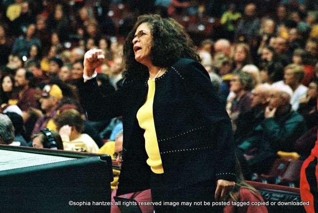 11.13.18  C. Vivian Stringer Head Coach  Rutgers Scarlet Knights Women's Basketball Wins 1000th Game