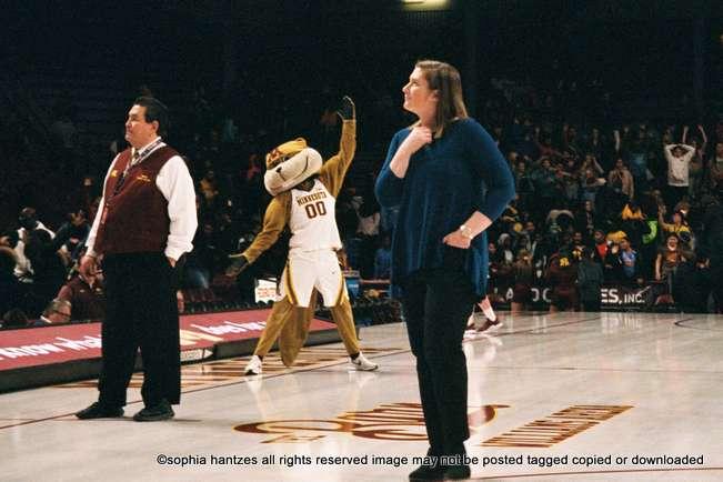 12.09.18 Lindsay Whalen   Head Coach Women's Basketball University of Minnesota Golden Gophers Begins Season With A 9-0  Record