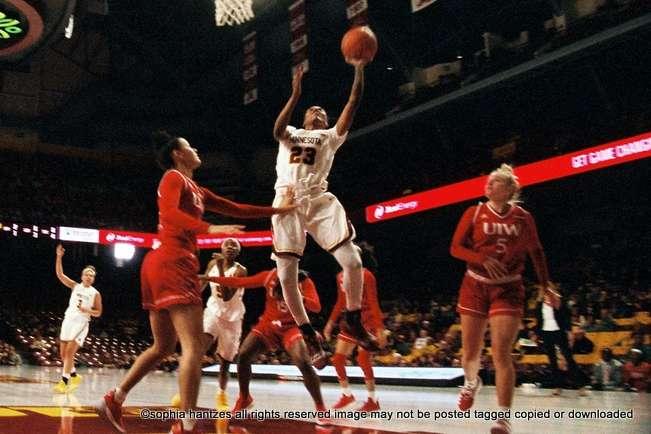 01.11.19 Kenisha Bell   Senior Guard   University of Minnesota Golden Gophers' Women's Basketball  Named to the 2019 John R. Wooden Award Mid-Season Top 25 Watch List   Minneapolis MN